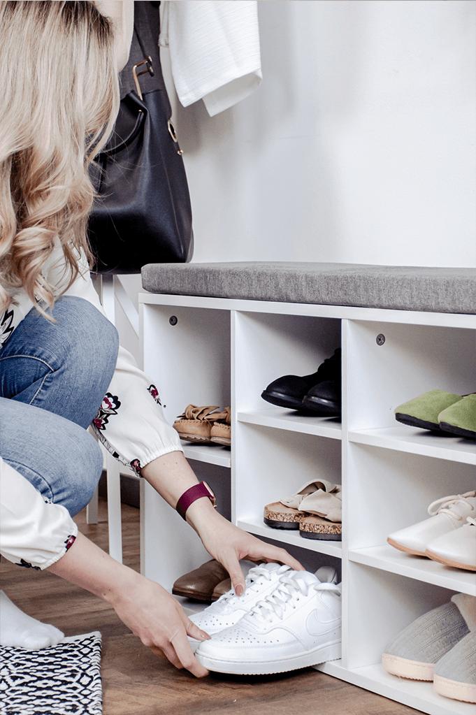 Sortiere Deine Schuhe