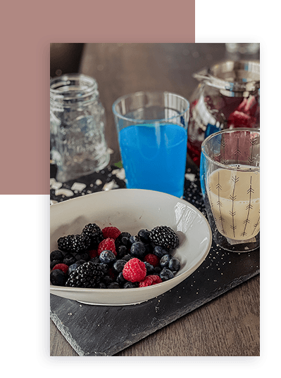 Ingedrients Blue Drink