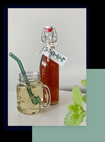 Woodruff Bottle