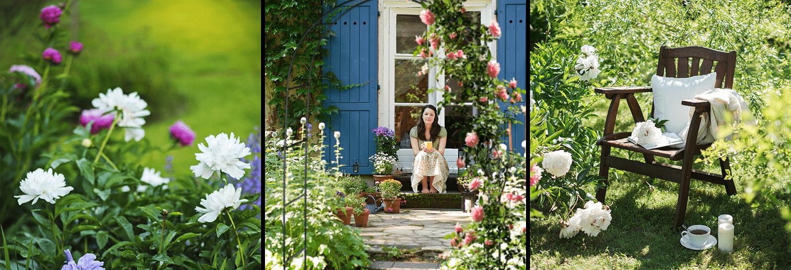 Landhaus Garten