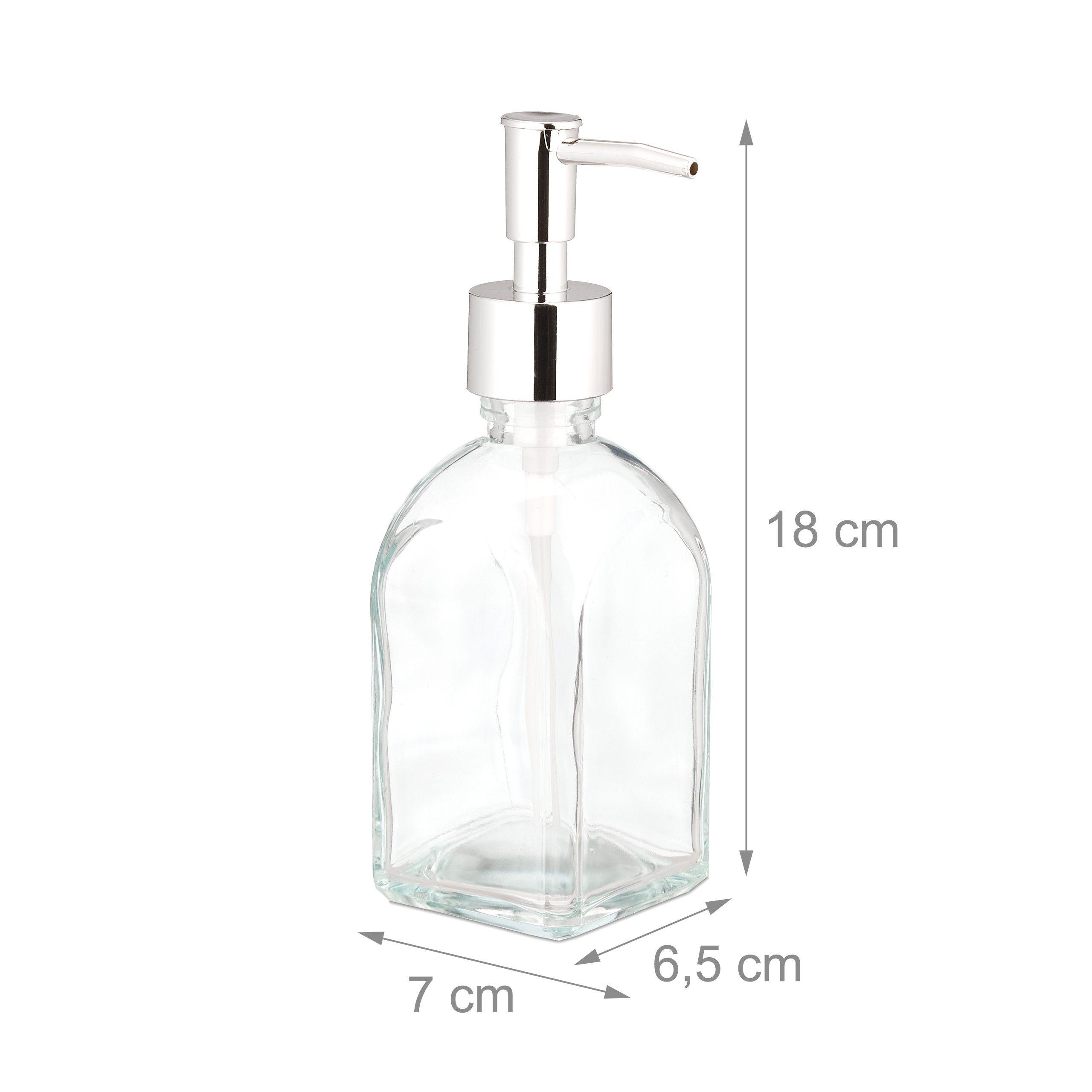1000ml nachf/üllbarer Seifenspender Pumpe 2er Set Pumpflasche Spender mit Silikontrichter und Etiketten vielseitig einsetzbar RR READY REFILLS Shampoo und Sp/ülung Flaschen