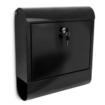 Der Briefkasten ist ideal für die Wandmontage geeignet