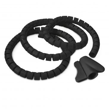 flexibler Kabelschlauch schützt vor Kabelbrüchen