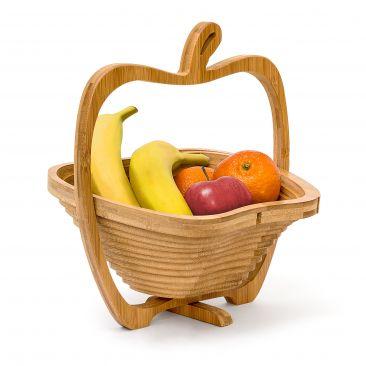 Faltkorb Apfel für Obst, Brötchen oder Snacks