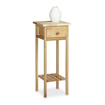Telefontisch Walnuss für dekorative Stellfläche
