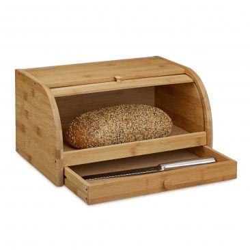 Rollbrotkasten hält Brot lange frisch