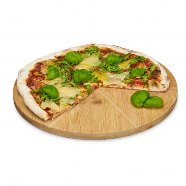 Pizzateller mit praktischer Einteilung