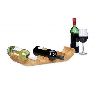 Weinregal in Bootform für 6 Flaschen Wein kaufen