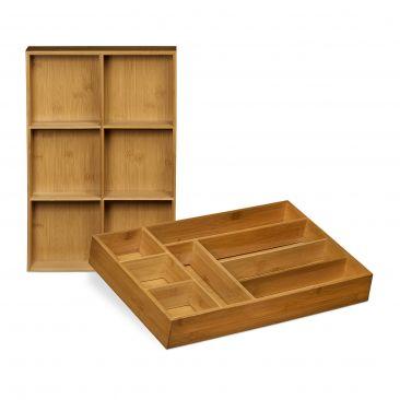 Schubladeneinsatz Bambus 2er Set online kaufen