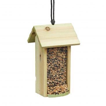 Vogelfutterhaus zum Hängen als Futterstelle