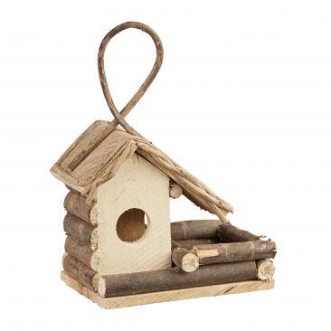 Dekoratives Vogelhaus zum Aufhängen