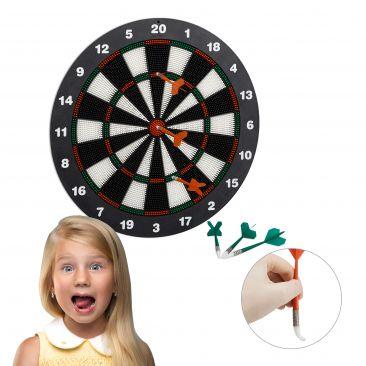 Dartscheibe Softdarts für Hobbysportler, Kinder