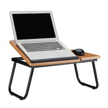Laptoptisch mit neigbarer Arbeitsfläche Gesamtansicht