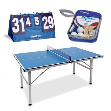 3er Tischtennisset Schläger Tischtennisbälle Tischtennisnetz Tisch Zählgerät