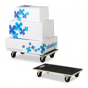 2er Set Transportroller für Möbel 400 kg Transportroller Rollbrett Möbelroller