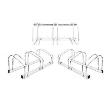 3er Set Fahrradständer je 3 Räder Bodenparker Fahrradhalter Mehrfachständer