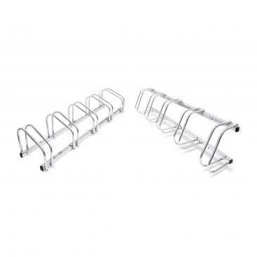 2er Set Fahrradständer Reihenparker beidseitig befahrbar Mehrfachständer Halter