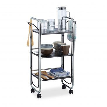 Servierwagen Metall auch als Büromöbel geeignet
