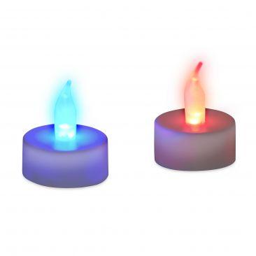 LED Teelicht Farbwechsel im Set Gesamtansicht