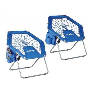 2x Bungee Stuhl Sessel Bungee-Chair Festival Trampolinstuhl Kinder Faltstuhl
