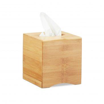 Kosmetiktücherbox quadratisch Gesamtansicht