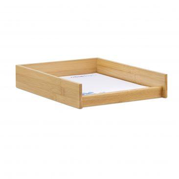 Dokumentenablage Holz Gesamtansicht