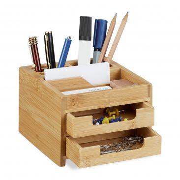 Schreibtisch Organizer Bambus rechteckig kaufen