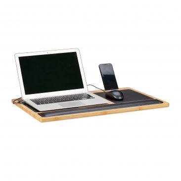 Laptoptisch Bambus Gesamtansicht