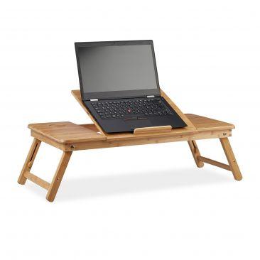 Bambus Laptoptisch XL Gesamtansicht
