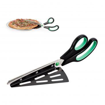 Pizzaschere mit Pizzaheber Gesamtansicht