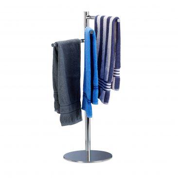 Handtuchhalter freistehend 3-armig Gesamtansicht