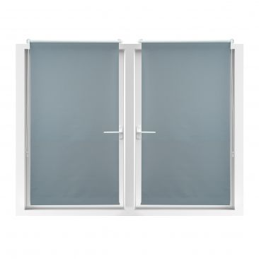 2er Set Verdunkelungsrollo zum Klemmen Klemmfix Fensterrollo Thermorollo 90x210