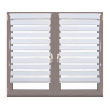 2er Set Doppelrollo Klemmfix Seitenzugrollo 70x150 Blickschutz Fensterrollo weiß