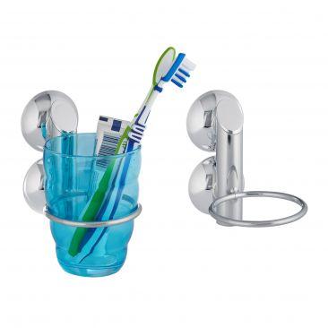 2er Set Zahnputzbecherhalter ohne Bohren Wandhalterung fürs Bad Becherhalter