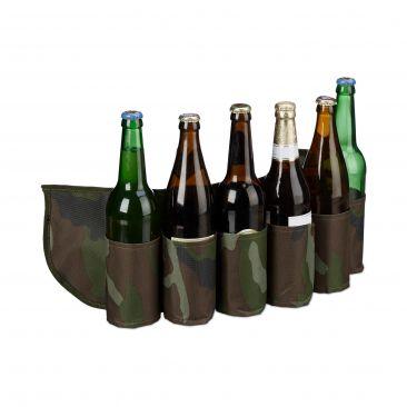 Biergürtel für 6 Dosen & Flaschen Gesamtansicht