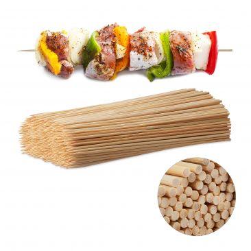 Schaschlikspieße aus Bambus 500 Stück Gesamtansicht