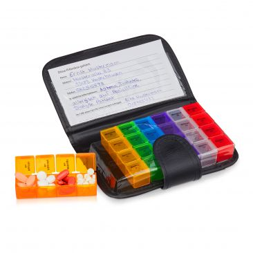 Tablettenbox mit Etui Gesamtansicht