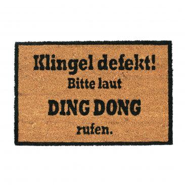 Kokosmatte DING DONG Gesamtansicht