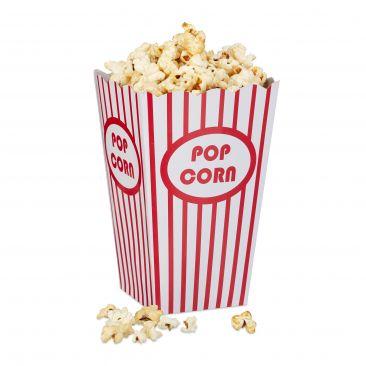 Popcorntüten 48 Stück Gesamtansicht