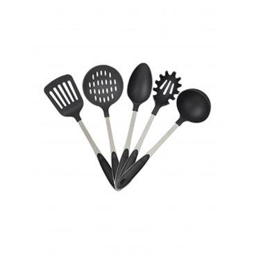 Küchenutensilien Edelstahl 5er Set Gesamtansicht