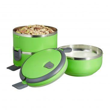 Lunchbox mit 3 Etagen Gesamtansicht