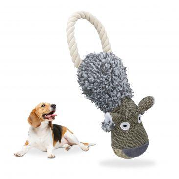 Hundespielzeug Wolf Gesamtansicht