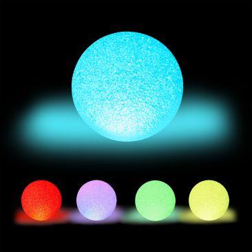 LED Kugelleuchte Farbwechsel Gesamtansicht