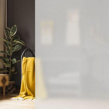 Fensterfolie Milchglasfolie 90 x 200cm Gesamtansicht
