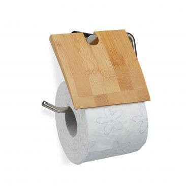 Toilettenpapierhalter Bambus Gesamtansicht