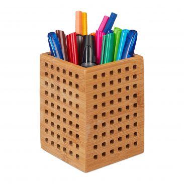 Stiftköcher Bambus Gesamtansicht