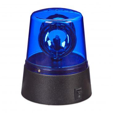 LED Rundumleuchte blau Gesamtansicht