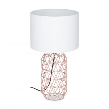 Tischlampe Gitter Gesamtansicht