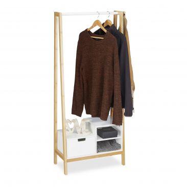 Garderobenständer mit Ablage Gesamtansicht