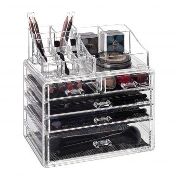 Make Up Organizer mit 5 Schubladen Gesamtansicht